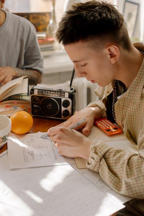 功課, 學生, 學習, 家庭作業 的 免費圖庫相片
