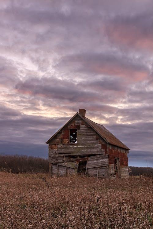Základová fotografie zdarma na téma bouře, drama, dřevo, dům