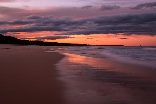 Immagine gratuita di nuvole, oceano, onde