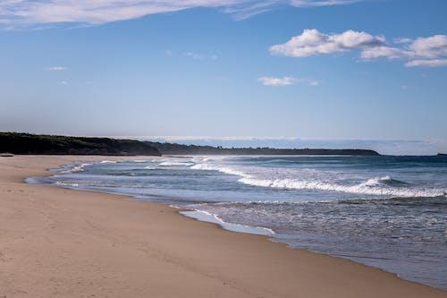 Free stock photo of beach, blue, clouds, ocean