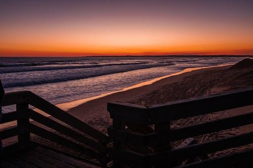 Free stock photo of australia, dark, ocean, stairs