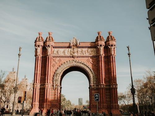 Бесплатное стоковое фото с Арка, архитектура, Барселона, барселона испания