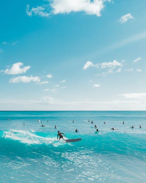 Foto profissional grátis de água, areia, beira-mar, descanso