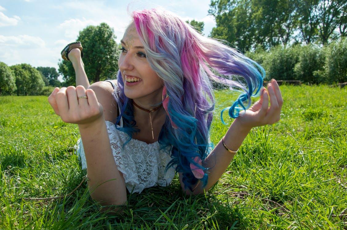 color, girl, hair