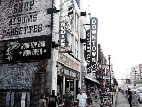 Free stock photo of bars, downtown, nashville