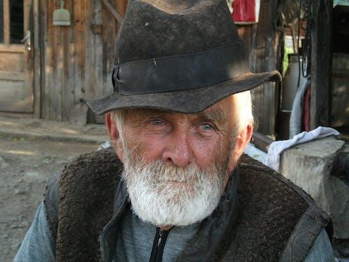 Immagine gratuita di anziano, cappello, contadino, persona