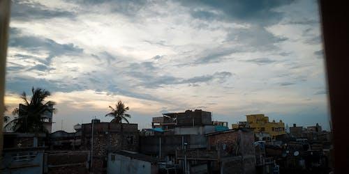 Free stock photo of clouds, desktop background, golden hour