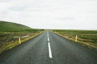 road, street, endless