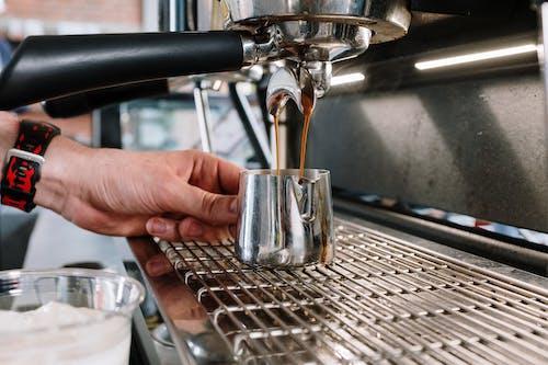 インドア, エスプレッソマシン, コーヒー, コーヒーメーカーの無料の写真素材