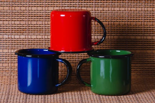 Free stock photo of café quente, caneca colorida, canecas, cha