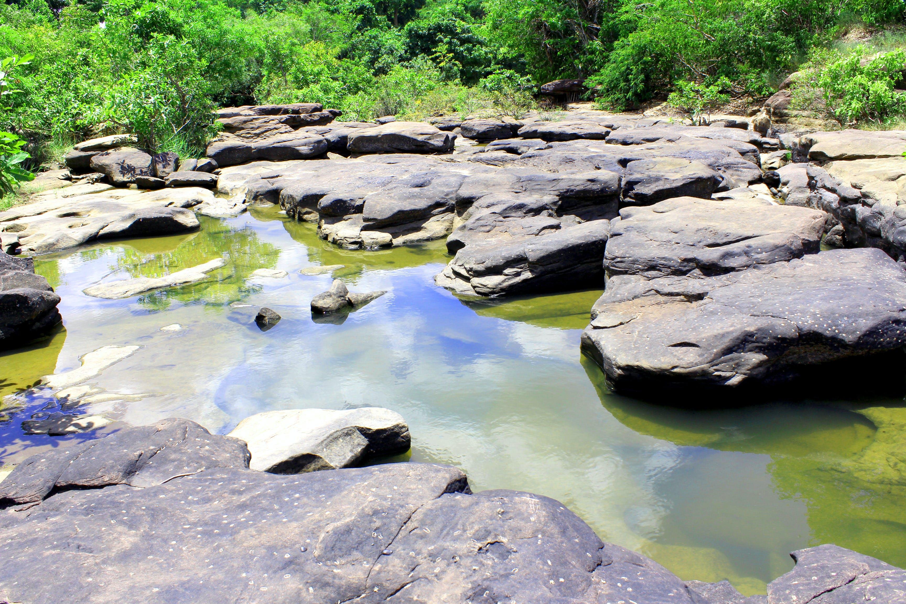 boulders, environment, idyllic