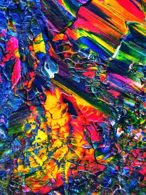 Gratis lagerfoto af abstrakt, akryl, akrylmaling, akvarel