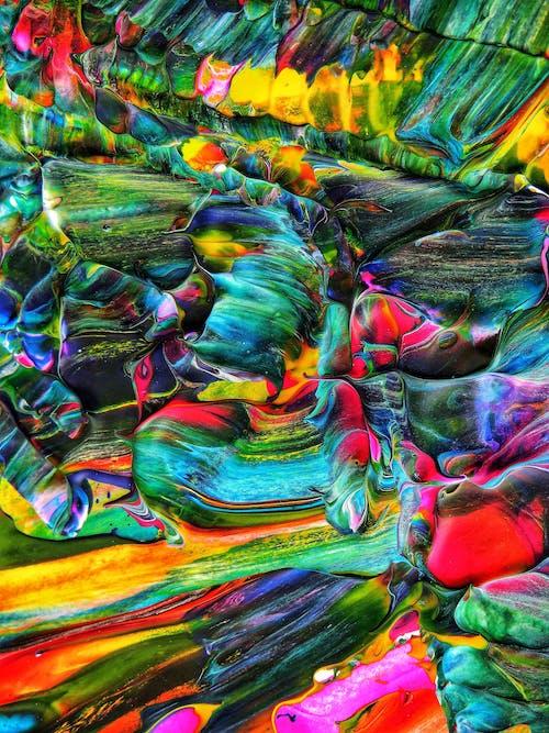 Gratis lagerfoto af abstrakt, akrylmaling, baggrund, billede