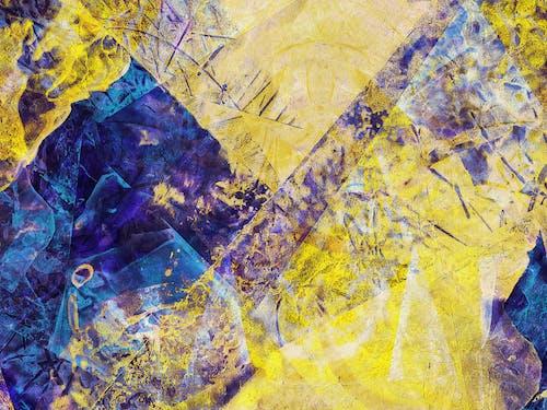Gratis lagerfoto af abstrakt, akryl, årgang, baggrund
