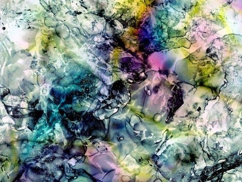 Gratis lagerfoto af abstrakt, akvarel, baggrund, blæksprutte blæk
