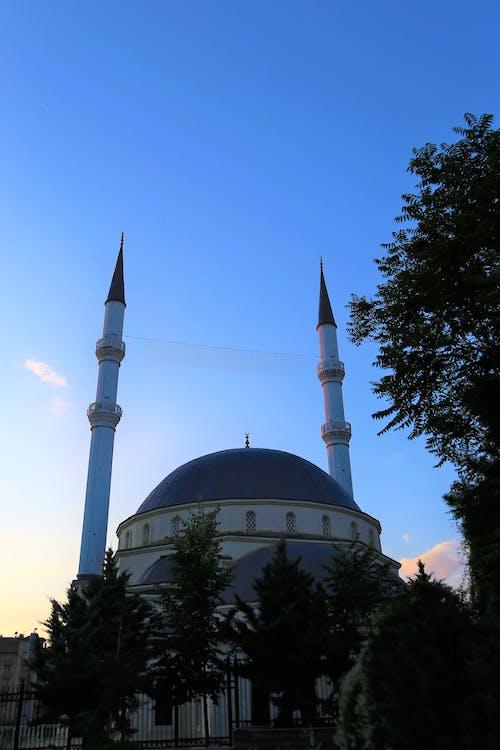 Kostenloses Stock Foto zu cami, islam, kubbe, mimarlık
