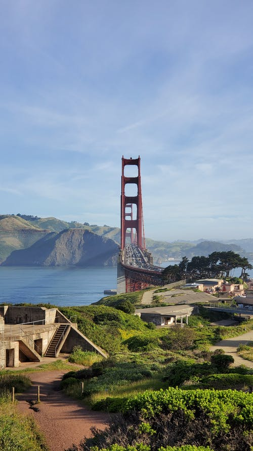 Kostenloses Stock Foto zu golden gate bridge, kalifornien, kalifornien-küste