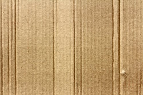 Darmowe zdjęcie z galerii z brązowy, falisty, karton, materiał