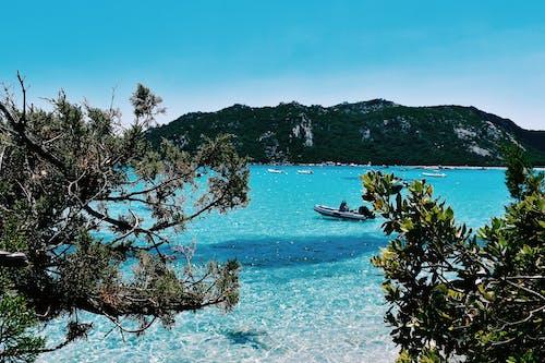 Free stock photo of beach, blue, cyan
