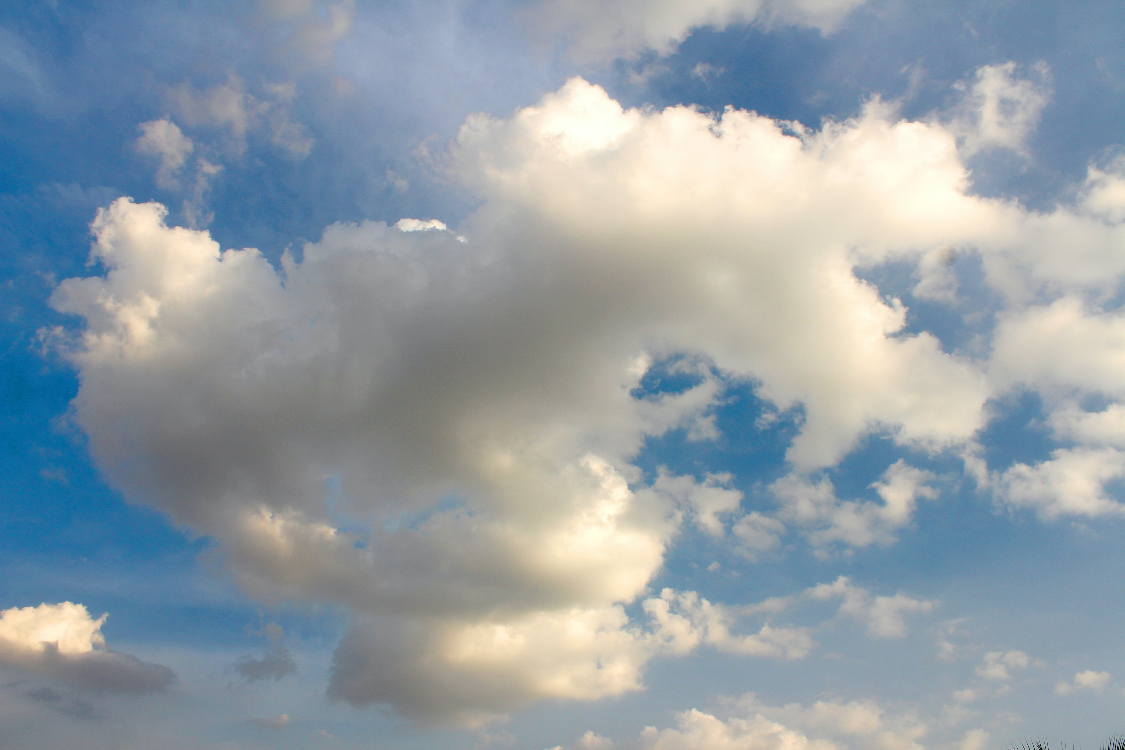 beautiful, blue sky, cloudiness
