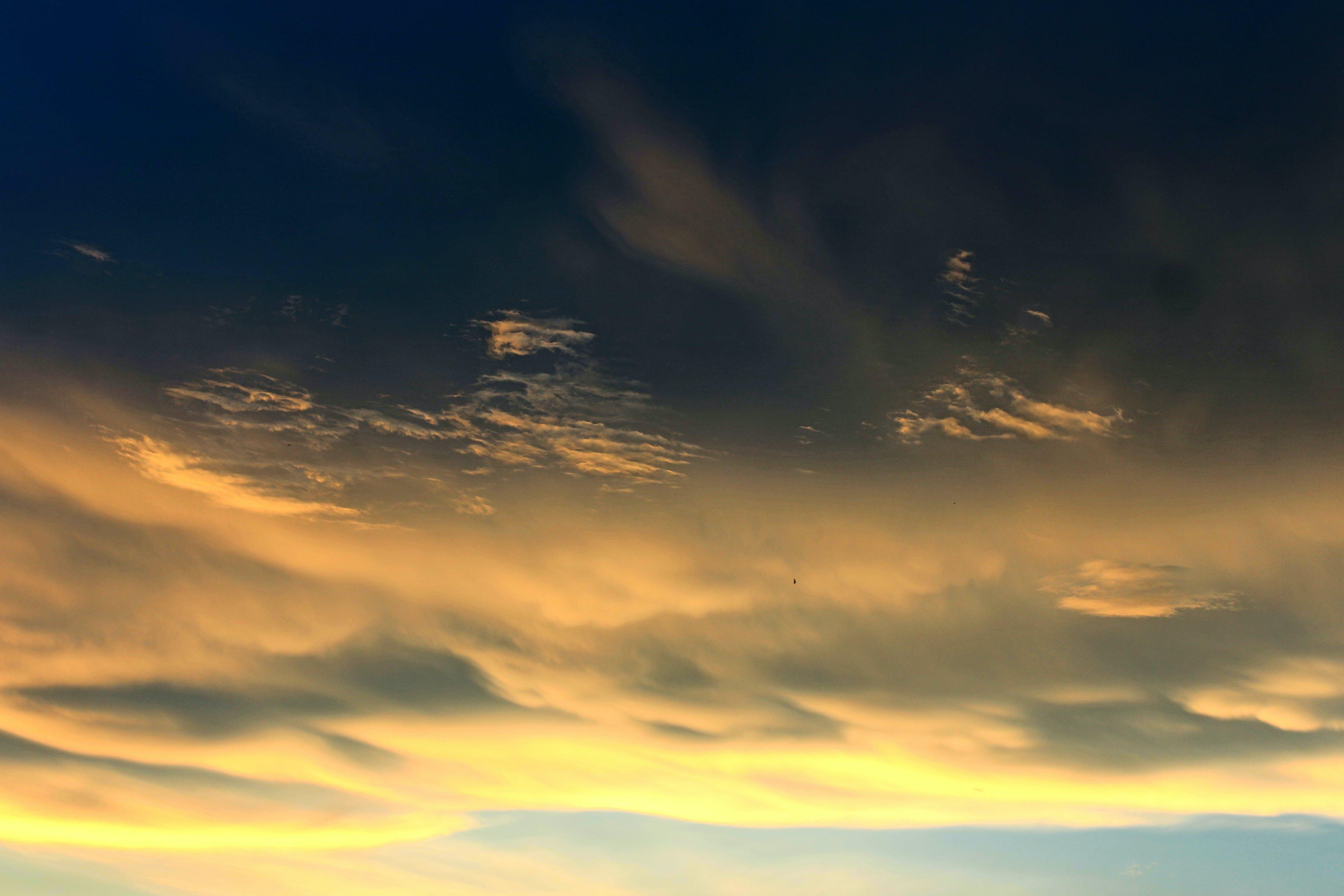 barışçıl, bulut görünümü, bulutlar, bulutlu içeren Ücretsiz stok fotoğraf