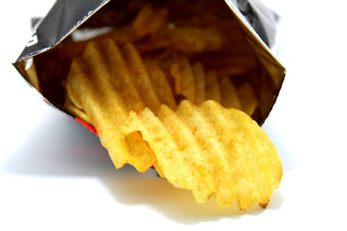 Photos gratuites de aliments, chips, chips de pomme de terre, collation
