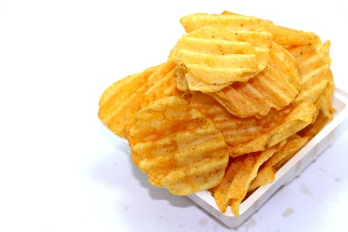 Tray of Potato Chips