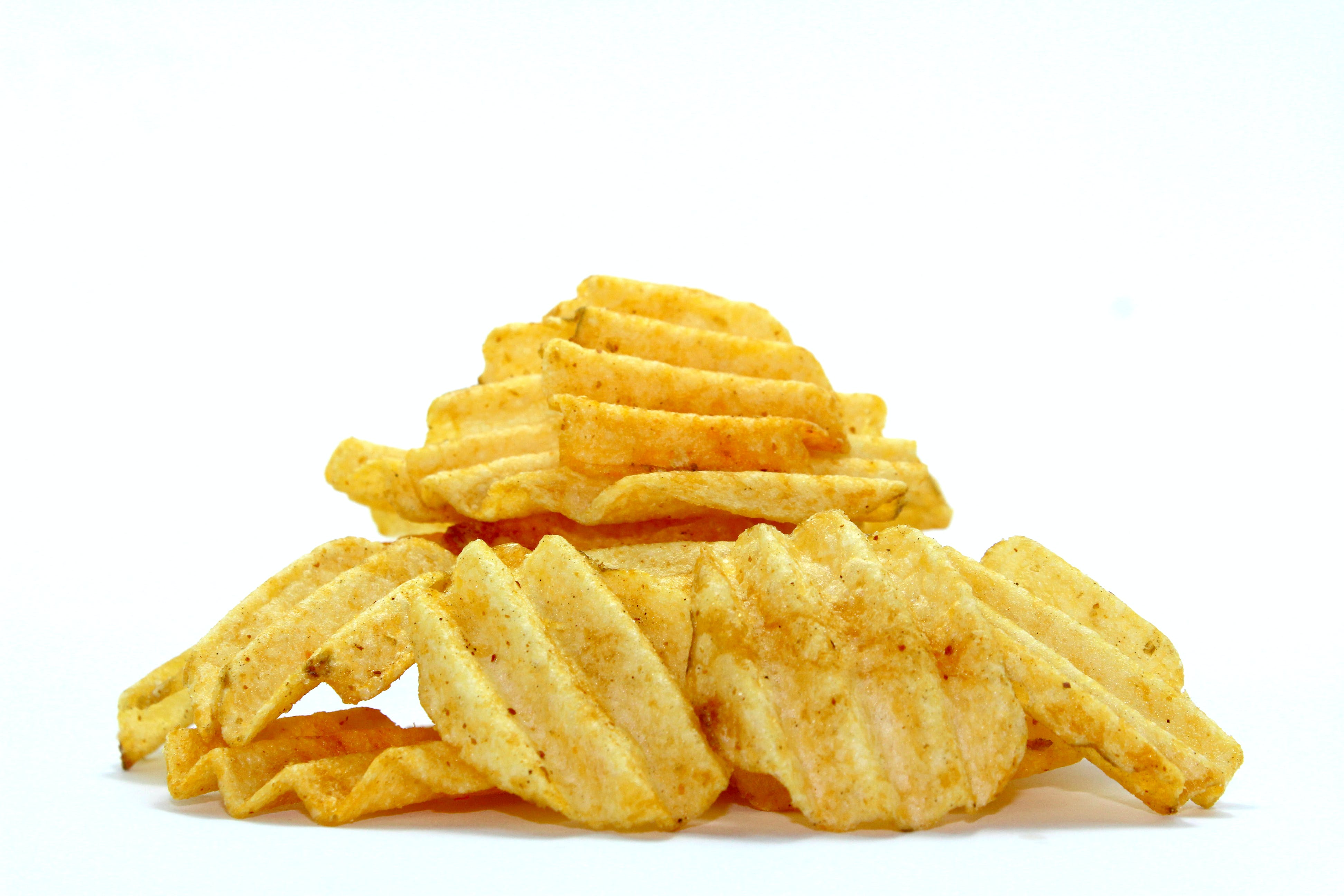 brambora, bramborové lupínky, chipsy
