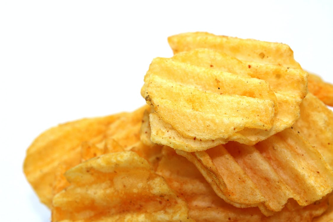 Free stock photo of chips, close up, crisp
