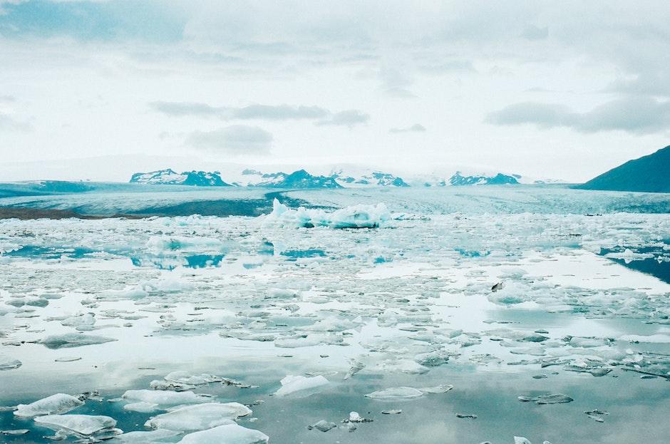 cold, glacier, ice