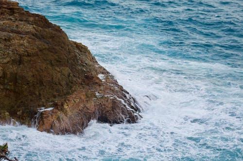Free stock photo of ocean, rock, wave