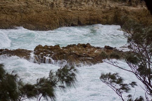 Free stock photo of australia, ocean, rock