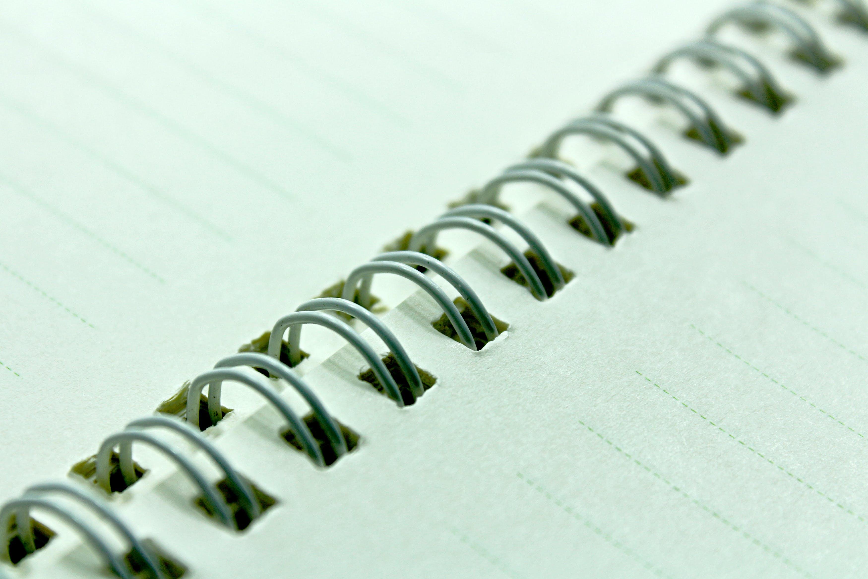 Beige Notebook