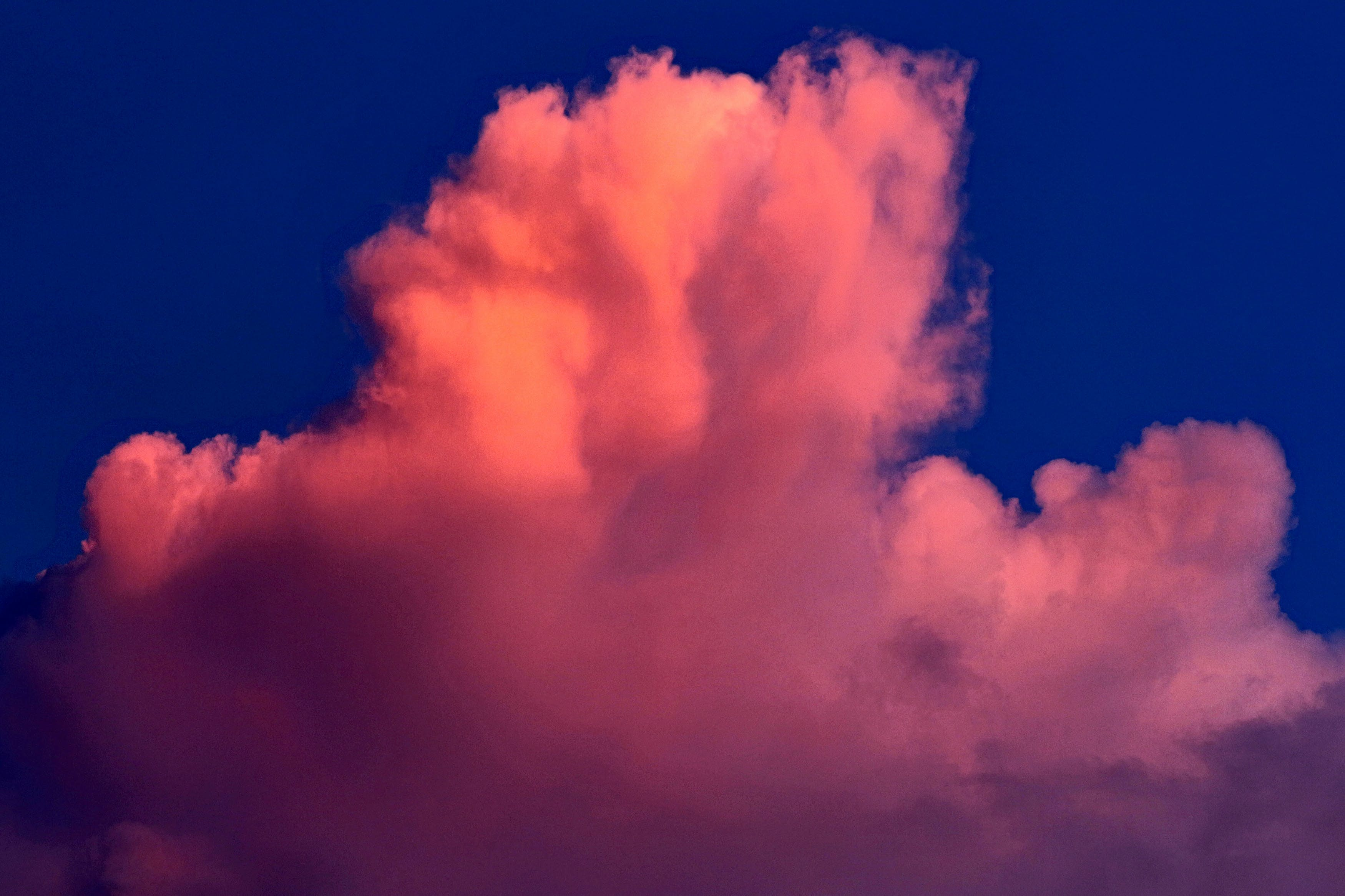 cloud formation, clouds, nature