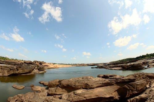 きらきら, シーン, 岩, 日光の無料の写真素材