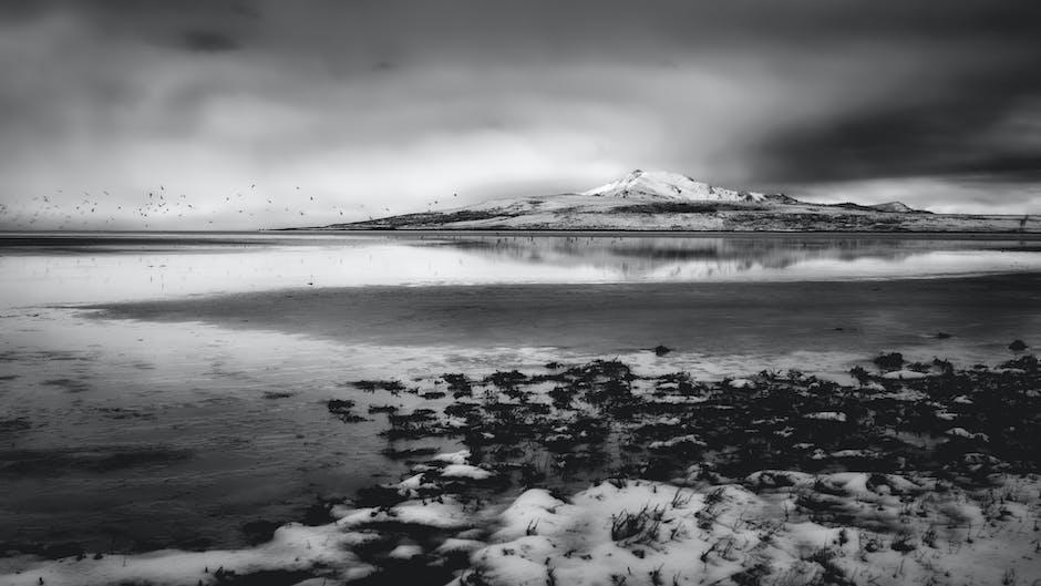 New free stock photo of iceland, snow, sea