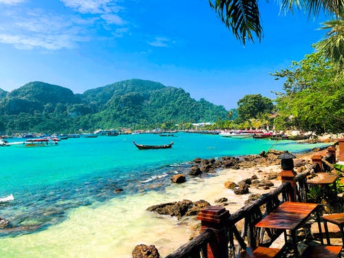 Free stock photo of island, phi phi, sea