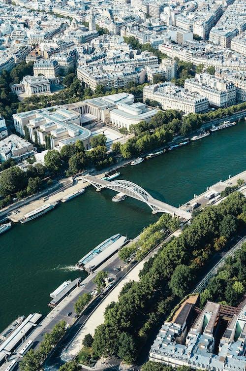 Бесплатное стоковое фото с архитектура, вид, вода, водный транспорт
