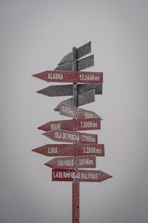 Free stock photo of alaska, neve, placas