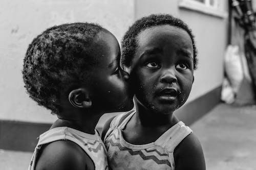 Imagine de stoc gratuită din adult, Africa, afro, alb-negru