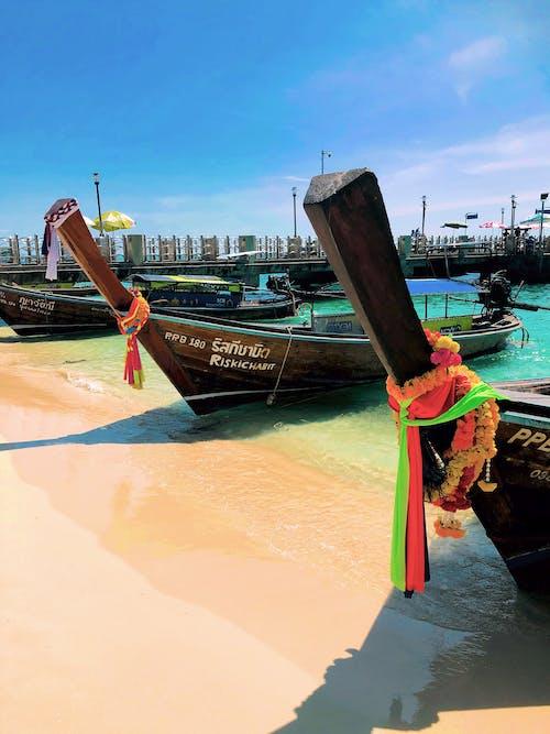Free stock photo of boat, boats, Krabi