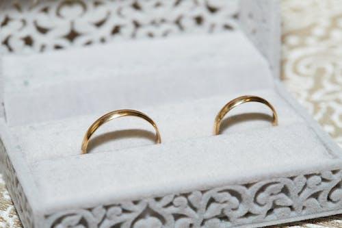 Free stock photo of amor, anillo, anillos, argollas