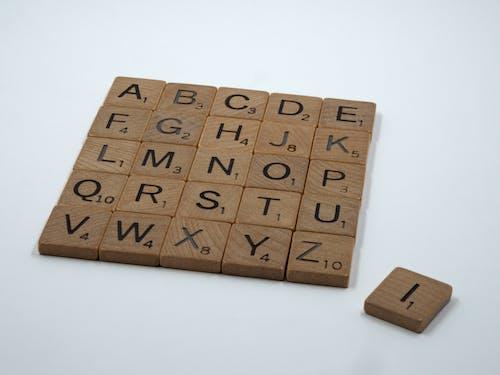 Ingyenes stockfotó betűk, én, fa, fehér háttér témában