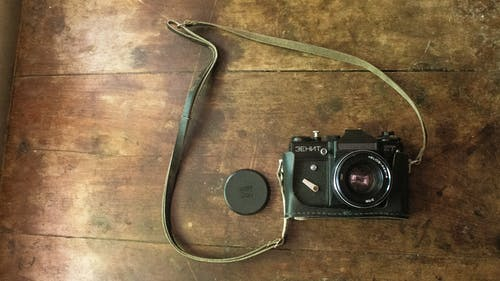 Free stock photo of camera, gear, lens