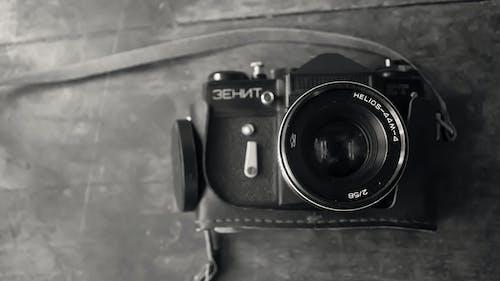 Free stock photo of blackandwhite, bnw, camera