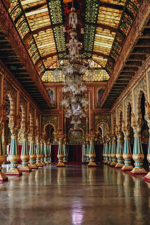 Fotos de stock gratuitas de adentro, arquitectura, Arte, candelabro