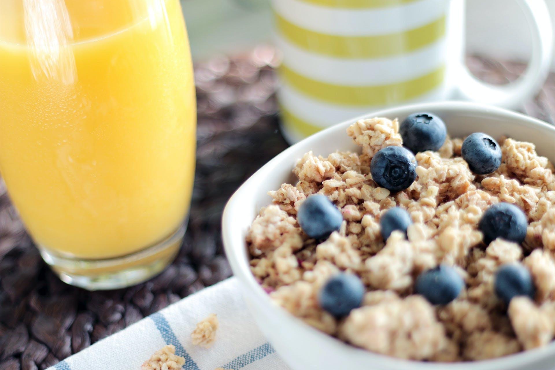 Gratis stockfoto met blauwe bessen, eten, gezond, granen