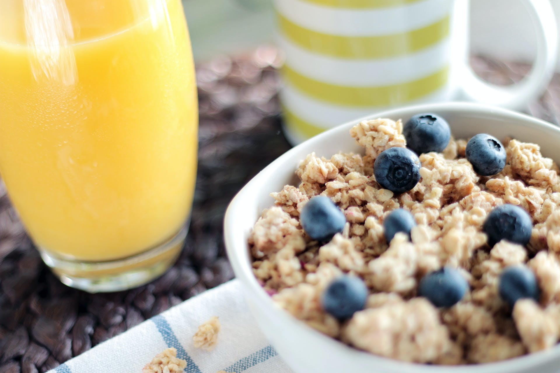 Free stock photo of food, healthy, morning, cereals