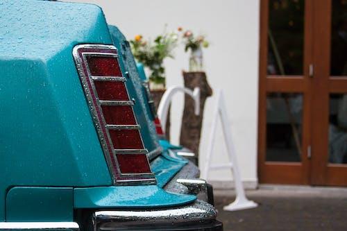 Free stock photo of back, car, lights, wedding