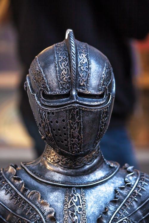 Free stock photo of armor, chevalier, iron, knight